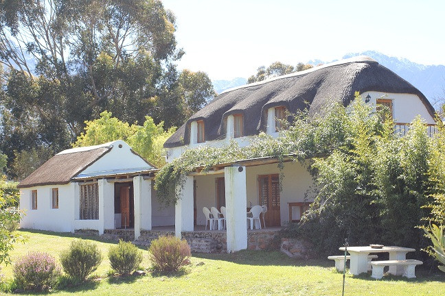 Tulbagh self catering farm cottage